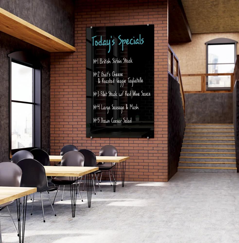 Skleněná tabule - restaurace