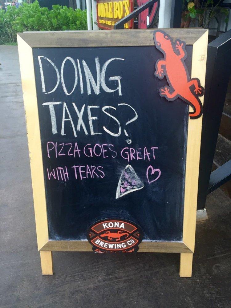 Vtipný nápis - reklamní áčko
