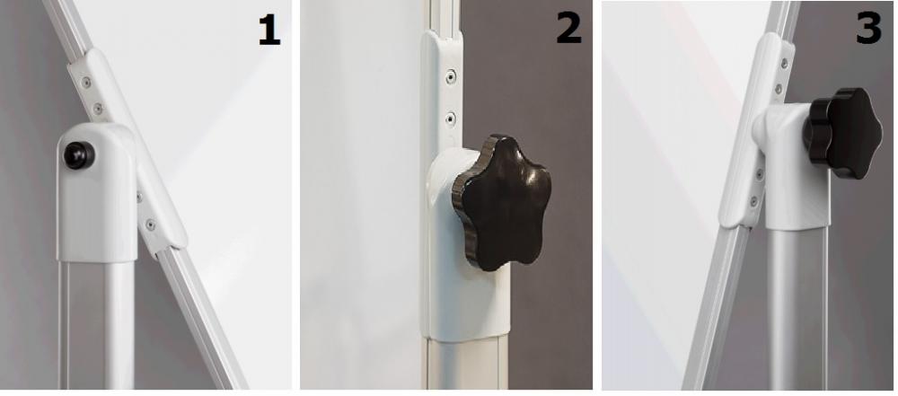 Allboards Keramická otočná oboustranná magnetická tabule - otáčení